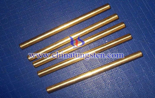 tungsten copper W90 rod