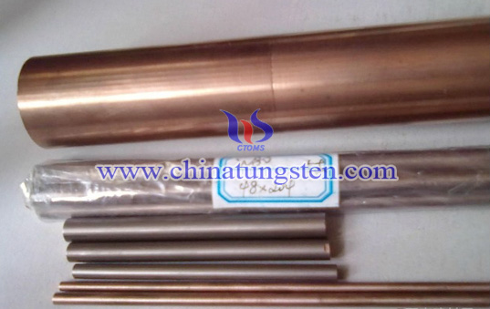 tungsten copper polished rod